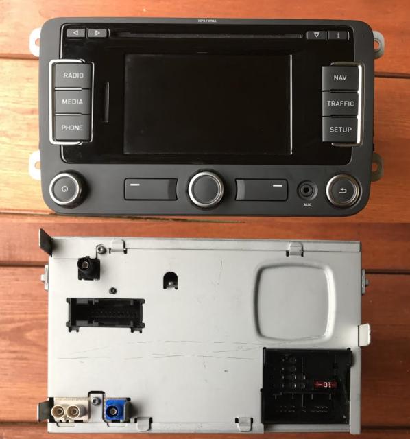 SEAT Radio Navigation System SE RNS 315 UE DAB Bluetooth Mp3/wma 5p0035191d  NAV