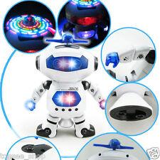Elektronisches Gehen Tanzen Smart Space Roboter Astronaut Kinder Musik Spielzeug