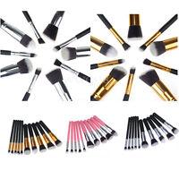 10PCS Pro Cosmetic Makeup Tool Blush Brush Set Powder Eyeshadow Kabuki Brush kit