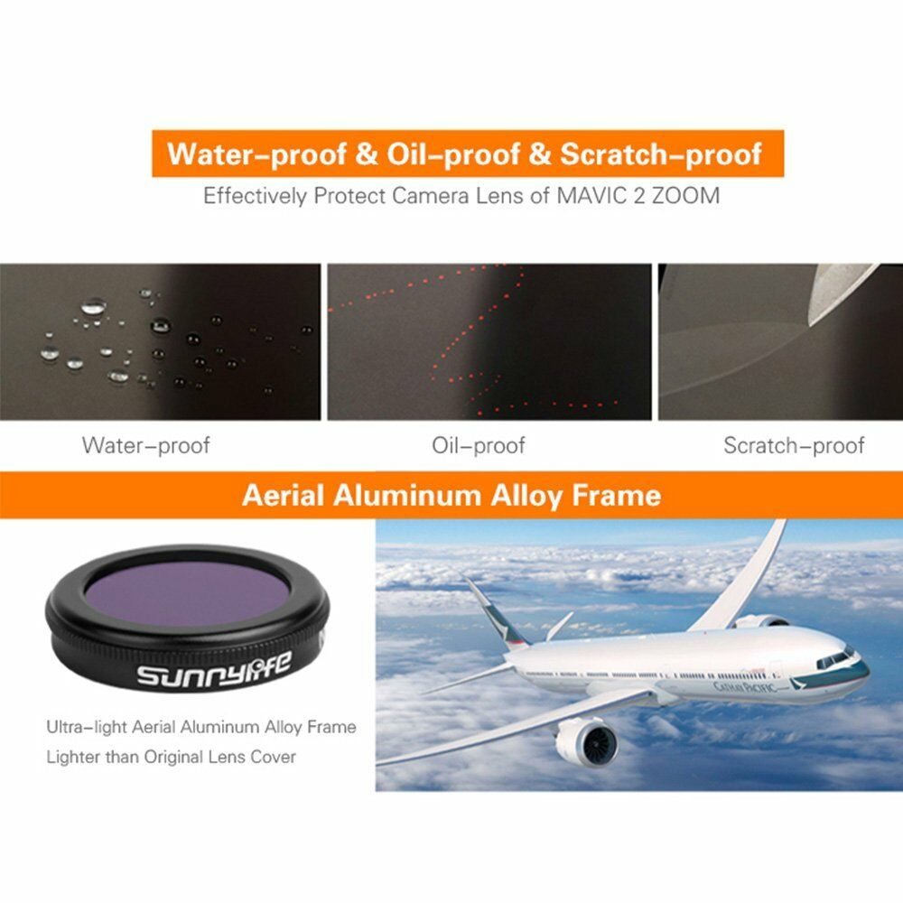 Camera Camera Camera Lens Filter CPL MCUV ND4 ND8 ND16 ND32 Repair for DJI Mavic 2 ZOOM Drone 681613