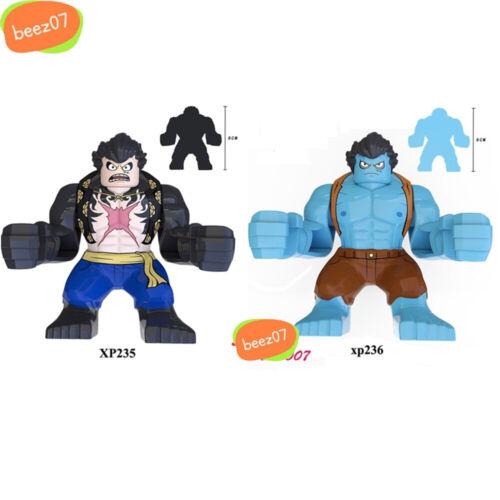 Single Cartoon Movie Series ONE PIECE Luffy Roronoa Zoro Nami Building Blocks