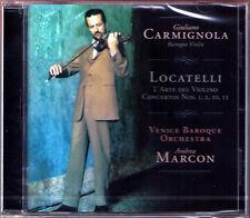 Giuliano CARMIGNOLA: LOCATELLI L'Arte del Violino ANDREA MARCON CD Violinkonzert