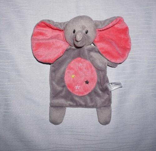Nicotoy Schmusetuch Elefant grau//rosa C/&A Kuscheltuch Schnuffeltuch TOP Zustand!