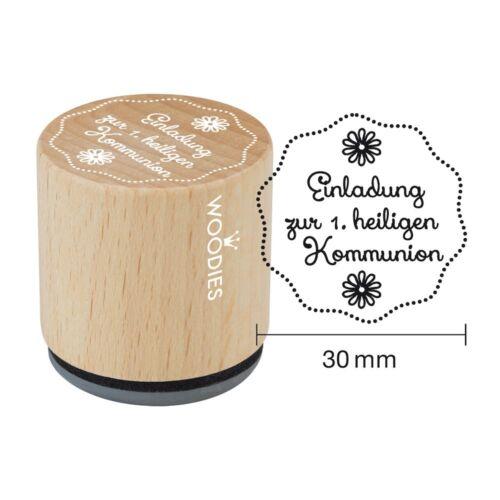 heiligen Kommunion von stempel-fabrik Woodies Stempel Einladung zur 1