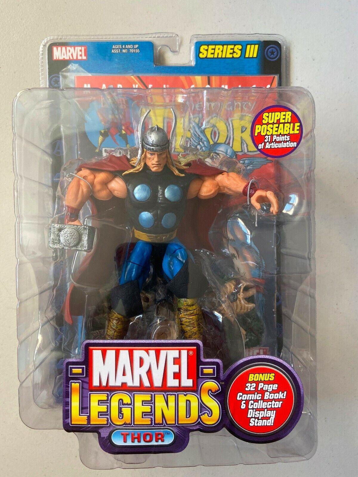 Marvel Legends 6 azione cifra Thor serie 3 Nuovo di Zecca DIO DEL TUONO