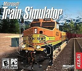 Details about Microsoft Train Simulator In Jewel Case (PC CD-ROM for  Windows 95/98/ME/2000)