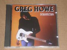GREG HOWE - INTROSPECTION - CD