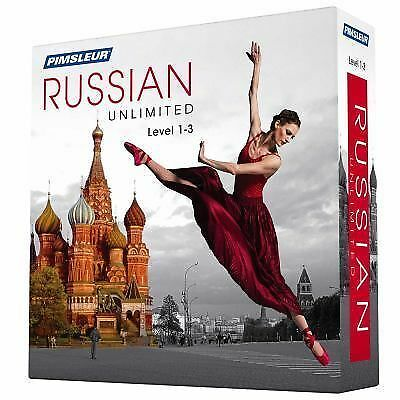 Pimsleur Unlimited Ser.: Pimsleur Russian Levels 1-3 Unlimited Software :...