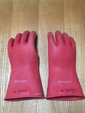 New Salisbury Lineman Gloves Class 0 1000vac E011r10 Size 10 Tested Dec 2012