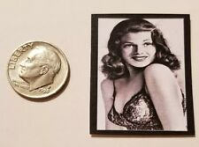 1:12 scale Marilyn Monroe Plate Dollhouse Miniature Accessory