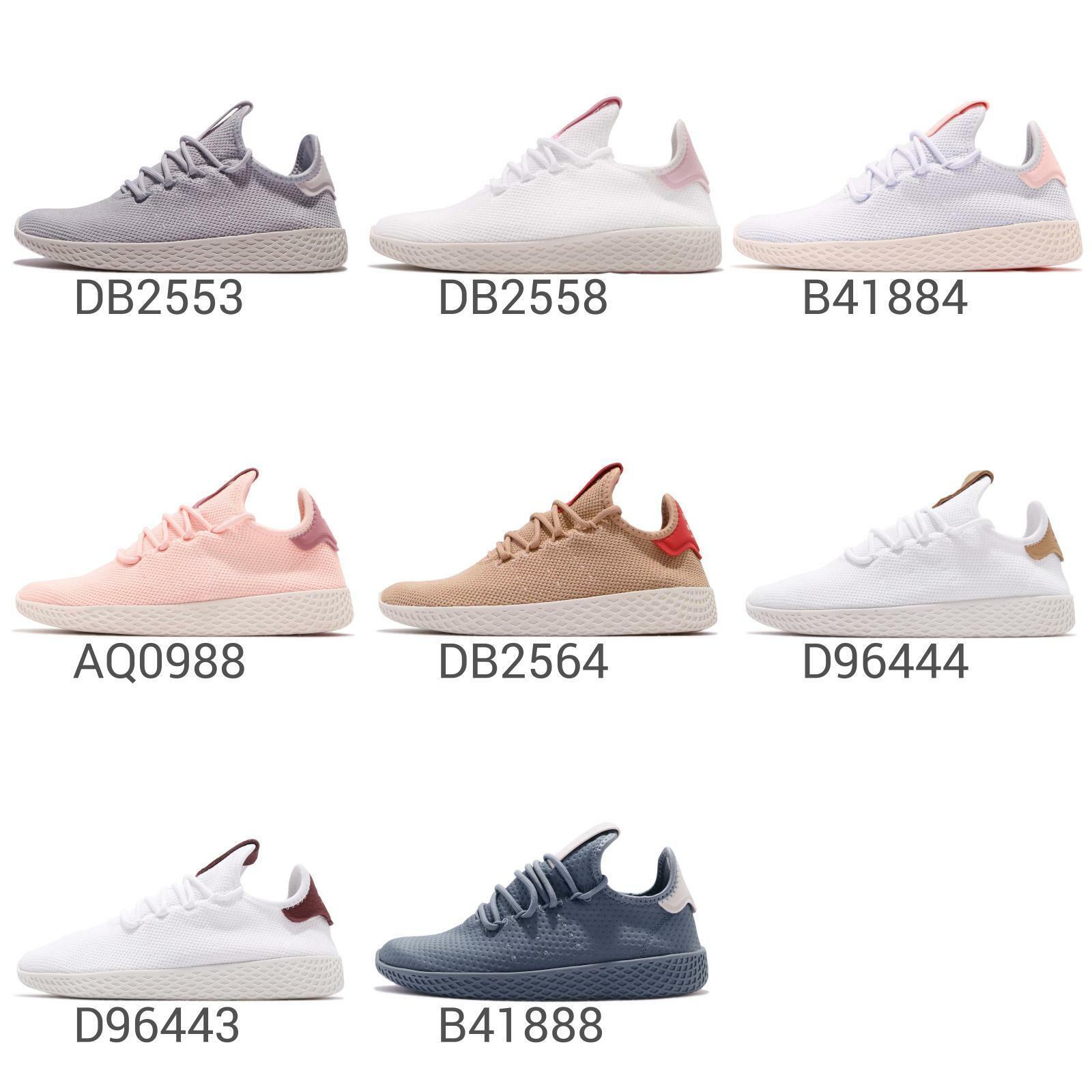 adidas Originals PW Tennis Hu W Pharrell Williams Aero Blue Pink Women B41884