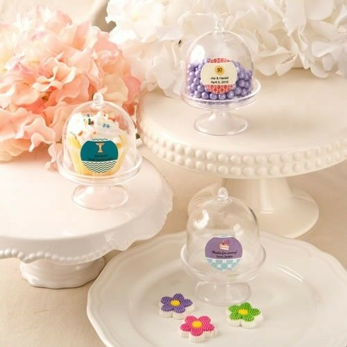 100 Personalized Medium Cake Stand Boxes Graduation Birthday Party Favors