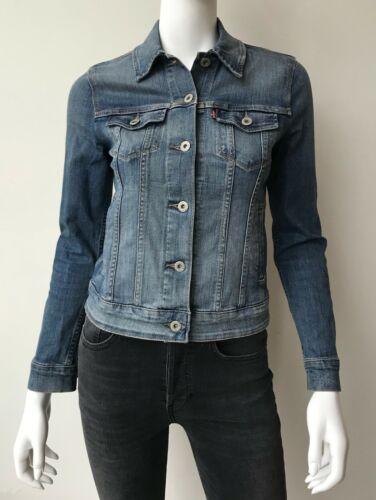 Levi's Denim Jacket Coat Size XS Blue Jean