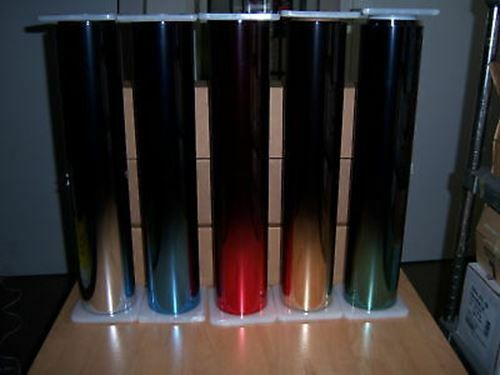 """GOLD fader film reflective 15-20/% gold to black window tint 20/"""" by 100ft roll"""