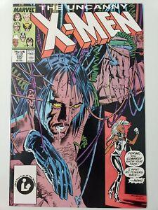THE-UNCANNY-X-MEN-220-1987-MARVEL-COMICS-MARC-SILVESTRI-ART-1ST-PRINT-NM