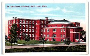 Early-1900s-St-Catherine-039-s-Academy-St-Paul-MN-Postcard