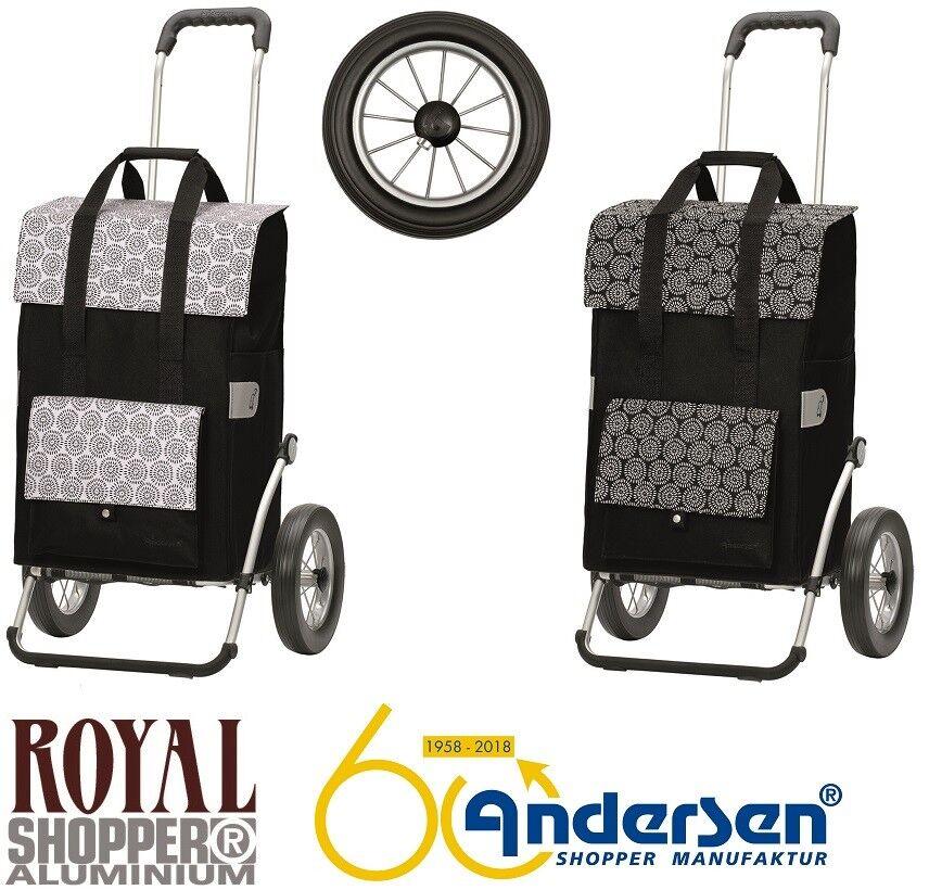 Andersen Royal SHOPPER vara metallspeichenrad CARRELLINO SPESA CARRELLO SPESA