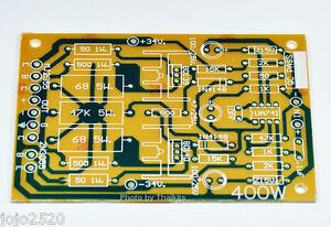 mono 100w transistor power amplifier bare pcb diy circuit ua741 rh ebay com