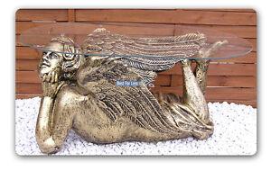Das Bild Wird Geladen ENGEL ENGELS FIGUR WOHNZIMMERTISCH TISCH SHABBY CHIC BEISTELLTISCH