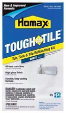 Item 5 NEW HOMAX 720773 TOUGH AS TILE TUB U0026 TILE EPOXY PAINT BRUSH ON  FINISH KIT WHITE  NEW HOMAX 720773 TOUGH AS TILE TUB U0026 TILE EPOXY PAINT  BRUSH ON ...