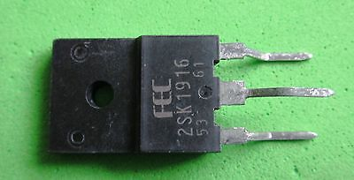 Q,M N-Kanal-Transist Transistor N-MOSFET unipolar 8A 900V 50W  TO220FP 2SK3799