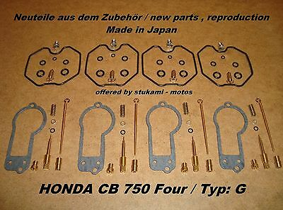 Honda CB 750 Four_Typ:_G_F2_Vergaser_-_Rep -Set_neu_CB750G_carburator repair set