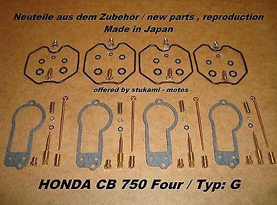 Honda CB 750 Four_Typ:_G_F2_Vergaser_-_Rep -Set_neu_CB750G_carburator repair set