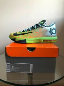 sports shoes 45d87 926d8 Image is loading NIKE-KD-VI-6-LIGER-SIZE-11-DS-