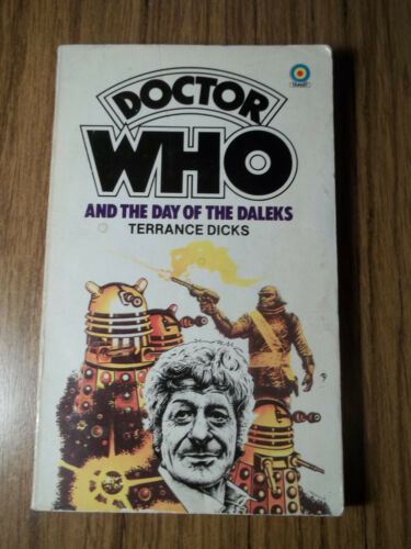 1 of 1 - 3rd DR Doctor Who and The Day of The Daleks Jo Brigadier Unit Tardis SIGNED!!!