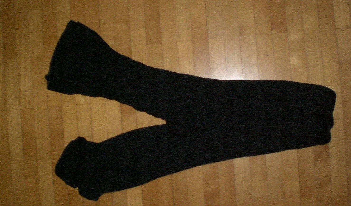 ZARA Damen schwarze Strumpfhose Strümpfe Gr. 36/38 S M NEU