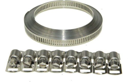 Swordfish 80050-8mm Width Band Stainless Steel Hose Clamp Set