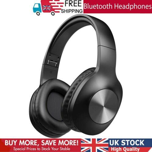 Bluetooth Headphones Over Ear LETSCOM 100 Hours Playtime Wireless Headphones PC