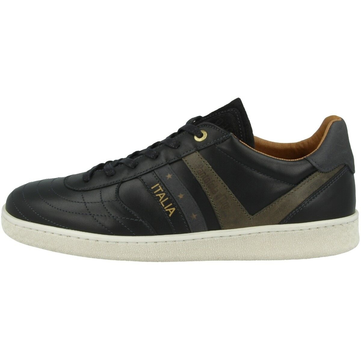 Pantofola d  Oro Bari  d Herren Niedrig Schuhe Herren Freizeit Sneaker schwarz 10183043.25Y 6cfc47