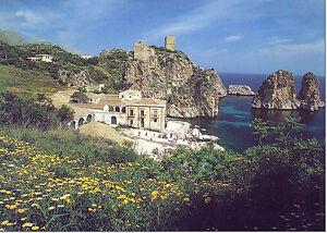 CARTOLINA-SICILIA-SICILY-POSTCARD-SCOPELLO-LA-TONNARA