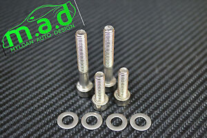 Renaultsport-Clio-172-182-Stainless-Steel-Engine-Cover-Bolts-SET-2-0-16v