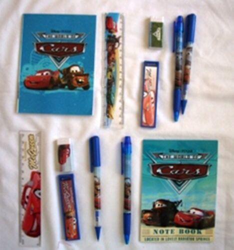 12 Disney Pixar Cars Stationery Gift Set Kid School Party Favor Supply Wholesale