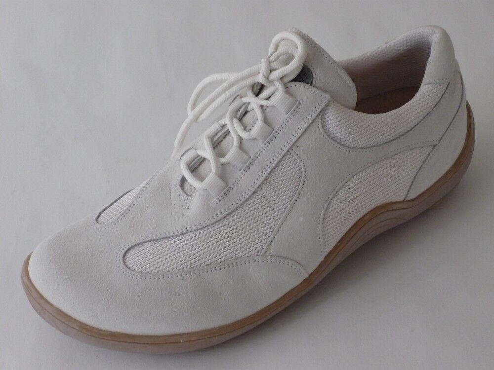 FOOTPRINTS by Til Schweiger Birkenstock FB Schuhe Sneaker 36 37 Leder Weiß NEU