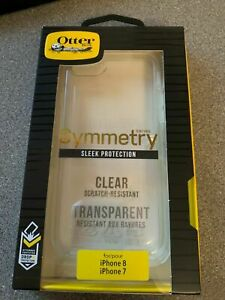 OtterBox-iPhone-7-8-SE-2-Symmetry-Series-Tough-ShockProof-Case-Cover-Clear