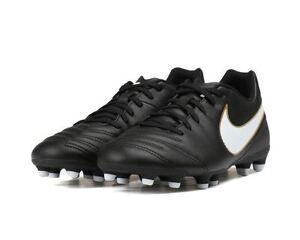 NIKE TIEMPO RIO III FG Men's Soccer Shoes Style 819233-010 MSRP +