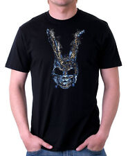 DONNIE Darko Bunny parlare con franchezza CONIGLIO CULT MOVIE Nero T-shirt di Cotone 09848