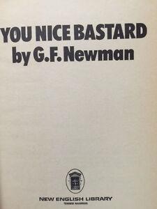 G-F-NEWMAN-YOU-NICE-BASTARD-FIRST-EDITION-UK-IN-DJ