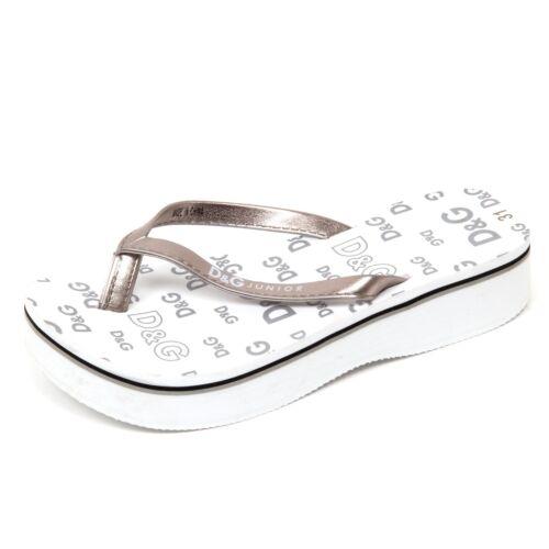 D1074 infradito bimba D/&G JUNIOR BEACHWEAR sandal shoe kid
