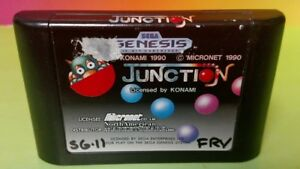 Junction-Sega-Genesis-Game-Rare-Tested-Working-AUTHENTIC