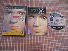 PS2 RESIDENT EVIL CODE VERONICA PAL ESPAÑA COMPLETO PLAYSTATION 2 SONY