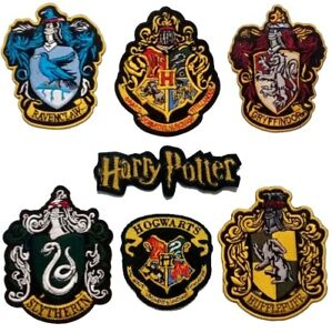 harry-potter-Large-ROB-iron-on-patch-Gryffindor-Slytherin-Hufflepuff-Ravenclaw