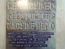 RE-MACHINED A TRIBUTE TO DEEP PURPLE'S M.H LP 33T neuf new METALLICA IRON MAIDEN