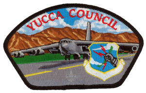 Yucca-Council-Military-Air-Force-Gila-Lodge-378-OA-Uniform-CSP-Patch-Badge-BSA