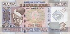 """Guinea 5000 Francs 2010 Pick 44 """"50 Jahre Währung"""" (1)"""