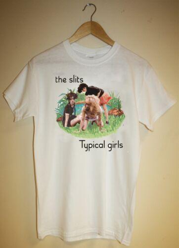TYPICAL GIRLS THE SLITS T SHIRT PUNK ROCK RETRO CUT 70S 80 SMALL MEDIUM LARGE XL