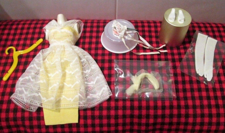1961 Japón De Colección.   Barbie   Bridesmaids conjunto   Flor de Naranjo   Completo + Como Nuevo